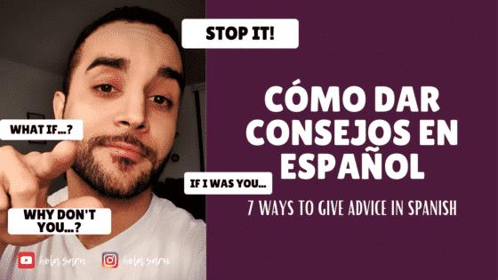 consejos en español